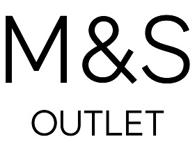 M&S OUTLET 2015 Stacked Logo Black